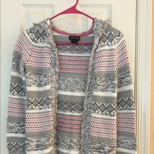 Cynthia Rowley Girl Sweater w/hood